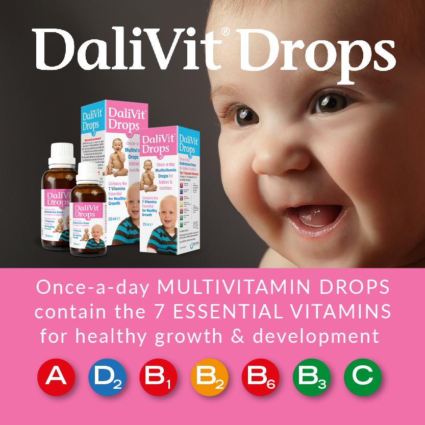 DaliVit Multivitamin Drops for Babies